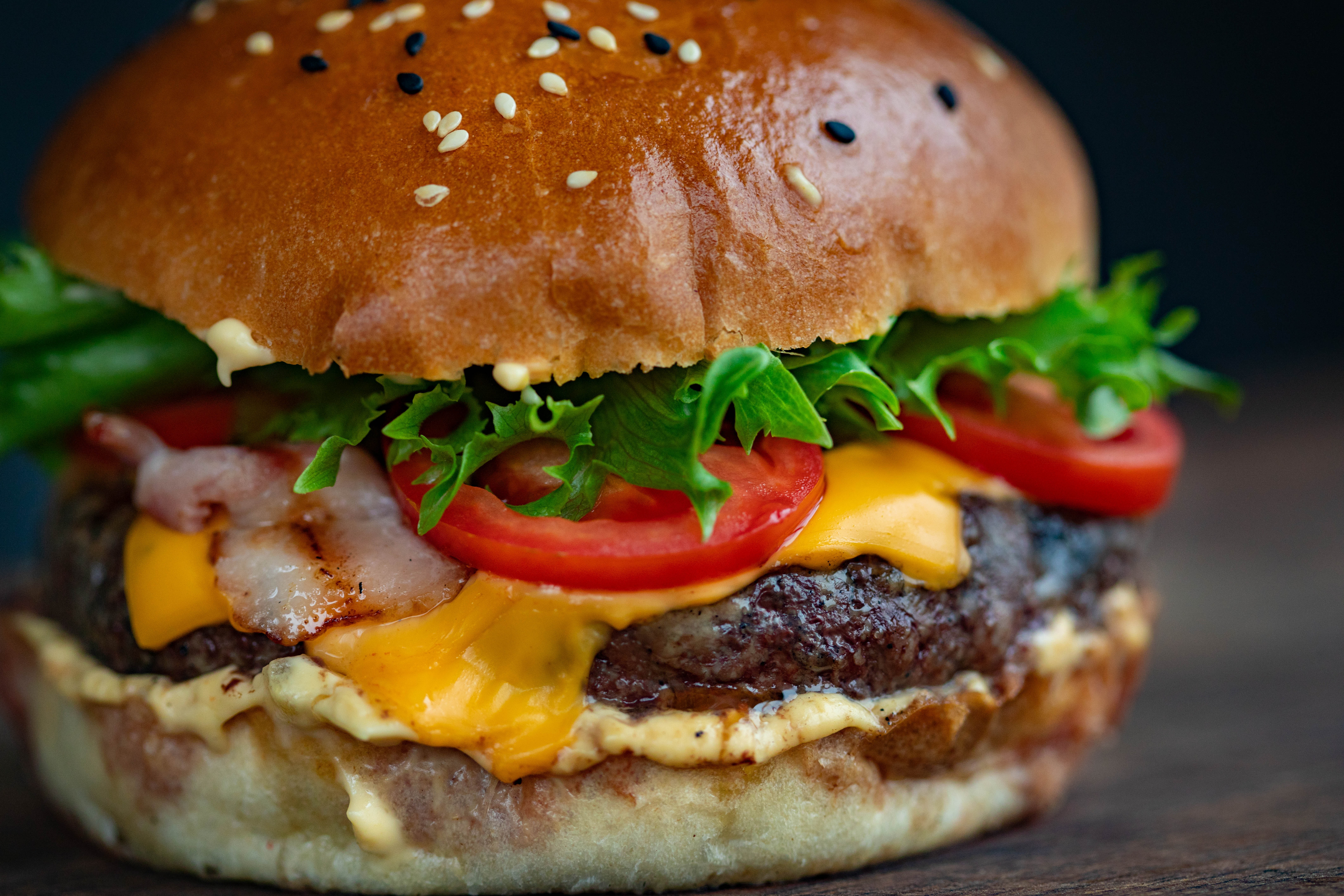America's best lunch catering: Burgers